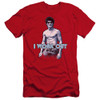 Image for Bruce Lee Premium Canvas Premium Shirt - Lee Works Out