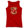 Image for Battlestar Galactica Girls Tank Top - Red Aces Badge