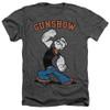 Image for Popeye the Sailor Heather T-Shirt - Gunshow