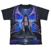 Image detail for Anne Stokes Sublimated Youth T-Shirt - Immortal Flight