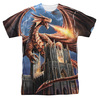 Image for Anne Stokes Sublimated T-Shirt - Dragon's Fury 100% Polyester