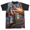 Anne Stokes Sublimated T-Shirt - Dragon's Fury