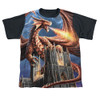 Image detail for Anne Stokes Sublimated Youth T-Shirt - Dragon's Fury