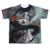 Image for Anne Stokes Sublimated Youth T-Shirt - Dragon Dancer 100% Polyester