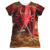 Image for Anne Stokes Girls Sublimated T-Shirt - Dragon's Lair 100% Polyester