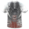Image Closeup for Alien Sublimated T-Shirt - Blood Drool