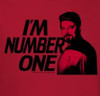 Image Closeup for Star Trek the Next Generation T-Shirt - I'm Number One