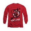 Image for They Live Long Sleeve T-Shirt - Graphic Poster