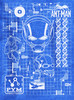 Image detail for Ant-Man T-Shirt - Schematic
