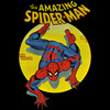 Image Closeup for Spider-Man T-Shirt - Spotlight
