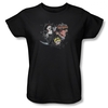 Image for Grim Adventures of Billy and Mandy Splatter Cast Woman's T-Shirt