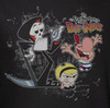 Image Closeup for Grim Adventures of Billy and Mandy Splatter Cast Woman's T-Shirt