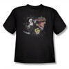 Image for Grim Adventures of Billy and Mandy Splatter Cast Youth T-Shirt