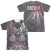 Bloodshot Sublimated T-Shirt - World on Fire