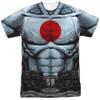 Image for Bloodshot Sublimated T-Shirt - Shirtless 100% Polyester