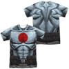 Image Closeup for Bloodshot Sublimated T-Shirt - Shirtless