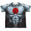 Image for Bloodshot Sublimated Youth T-Shirt - Shirtless 100% Polyester