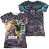 Image Closeup for X-O Manowar Girls Sublimated T-Shirt - Surrounded