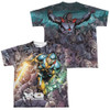 Image Closeup for X-O Manowar Sublimated Youth T-Shirt - Surrounded