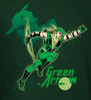 Image Closeup for Green Arrow in Action Youth T-Shirt