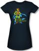 Image for Martian Manhunter Girls Shirt