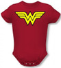 Image for Wonder Woman Classic Logo Baby Creeper