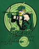 Image Closeup for Green Arrow Drawing Kid's T-Shirt