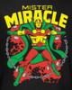 Image Closeup for Mr. Miracle Girls Shirt