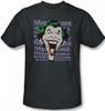 Image Closeup for The Joker T-Shirt - Dastardly Merriment