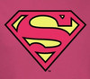 Image Closeup for Supergirl Classic Logo Youth T-Shirt