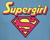 Image Closeup for Supergirl Logo Youth T-Shirt