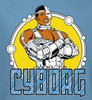 Image Closeup for Cyborg Youth T-Shirt
