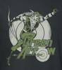 Image Closeup for Green Arrow Right on Target Girls Shirt