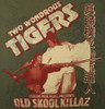Image Closeup for Two Wondrous Tigers T-Shirt