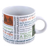 Image Closeup for Shakespeare Insults Coffee Mug