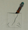 Image Closeup for Doctor Who T-Shirt - Sonic Screwdriver in Pocket