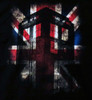 Image Closeup for Doctor Who Girls T-Shirt - Union Jack