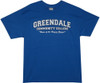 Image Closeup for Community Greendale College Home of the Human Beings T Shirt