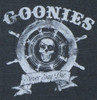 Image Closeup for Goonies Never Say Die Girls T-Shirt