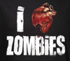 Image Closeup for Zombie T-Shirt - I Heart Zombies Womens