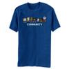 Image for Community 8 Bit T Shirt