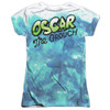 Image Closeup for Sesame Street Girls T-Shirt - Oscar the Grouch Go Away