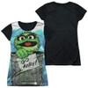 Sesame Street Girls T-Shirt - Oscar the Grouch Go Away