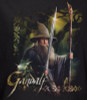 Image Closeup for The Hobbit Desolation of Smaug Sword and Staff long sleeve T-Shirt