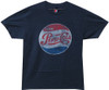 Image Closeup for Classic Pepsi Distressed T-Shirt