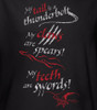 Image Closeup for The Hobbit Desolation of Smaug Tail Claws Teeth Tank Top