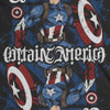 Image detail for Captain America Playing Card Ambigram T-Shirt