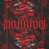 Image Closeup for Deadpool Playing Card Ambigram T-Shirt