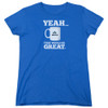 Image for Office Space Womans T-Shirt - Yeah...That Would Be Great