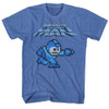 Image for Mega Man Mega Gunner Heather T-Shirt
